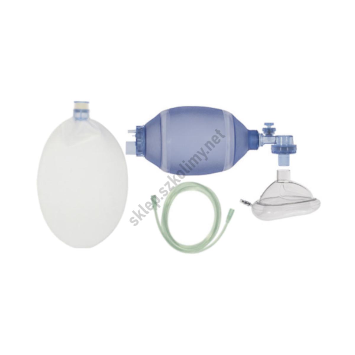Resuscytator, worek samorozprężalny PVC (dorośli | dzieci | noworodki)