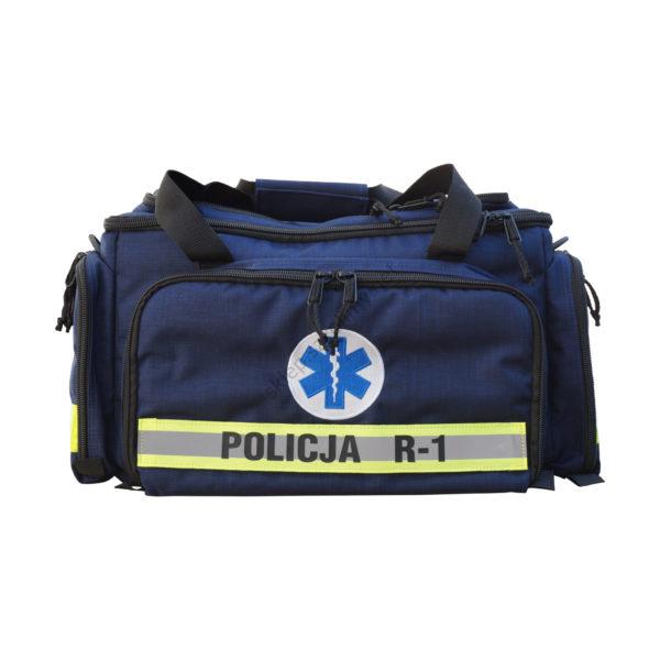 Zestaw ratowniczy POLICJA R1 w torbie (zgodnie z KGP nr 550)