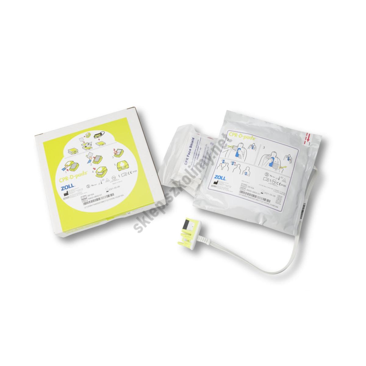 Elektrody dla dorosłych CPR-D-Padz do defibrylatora ZOLL AED PLUS