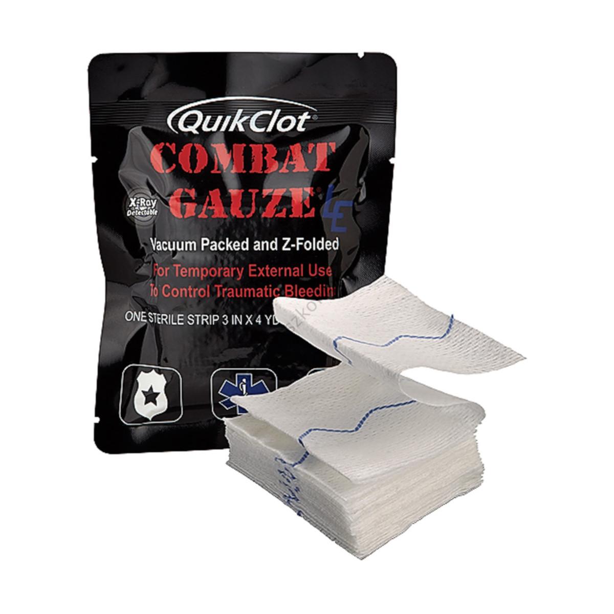 Opatrunek hemostatyczny QuikClot Combat Gauze LE