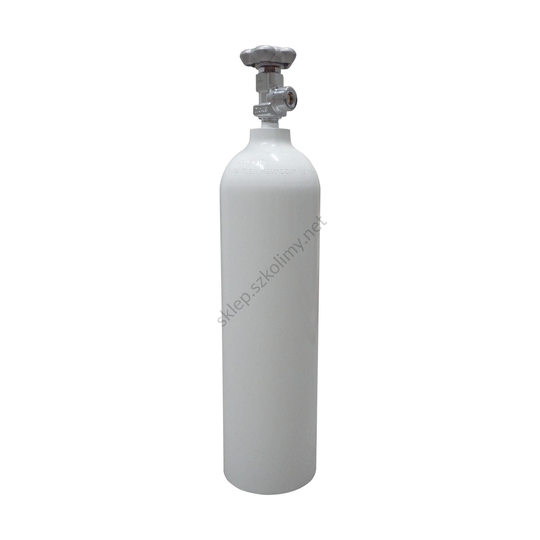 Butla tlenowa aluminiowa 2,7l
