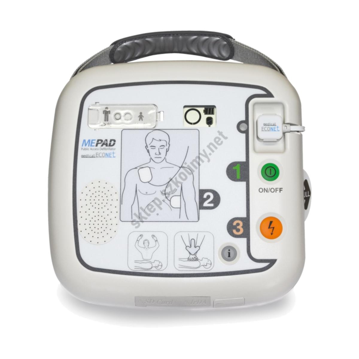 Defibrylator AED ME PAD (iPAD) CU SP1 półautomatyczny