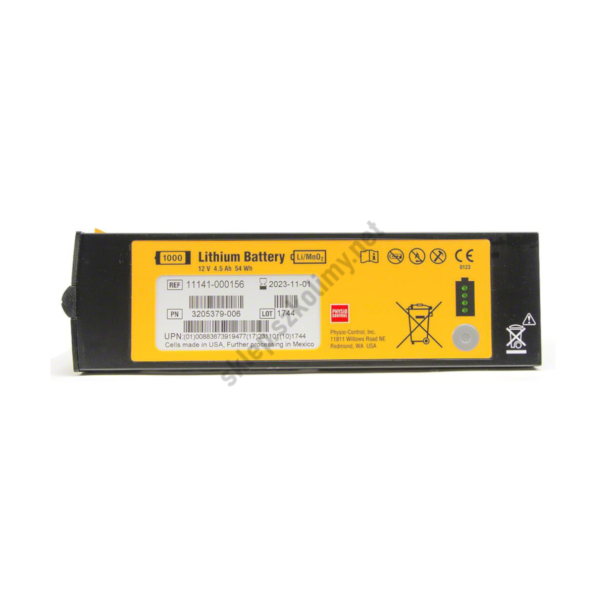 Bateria nieładowalna do defibrylatora LIFEPAK 1000