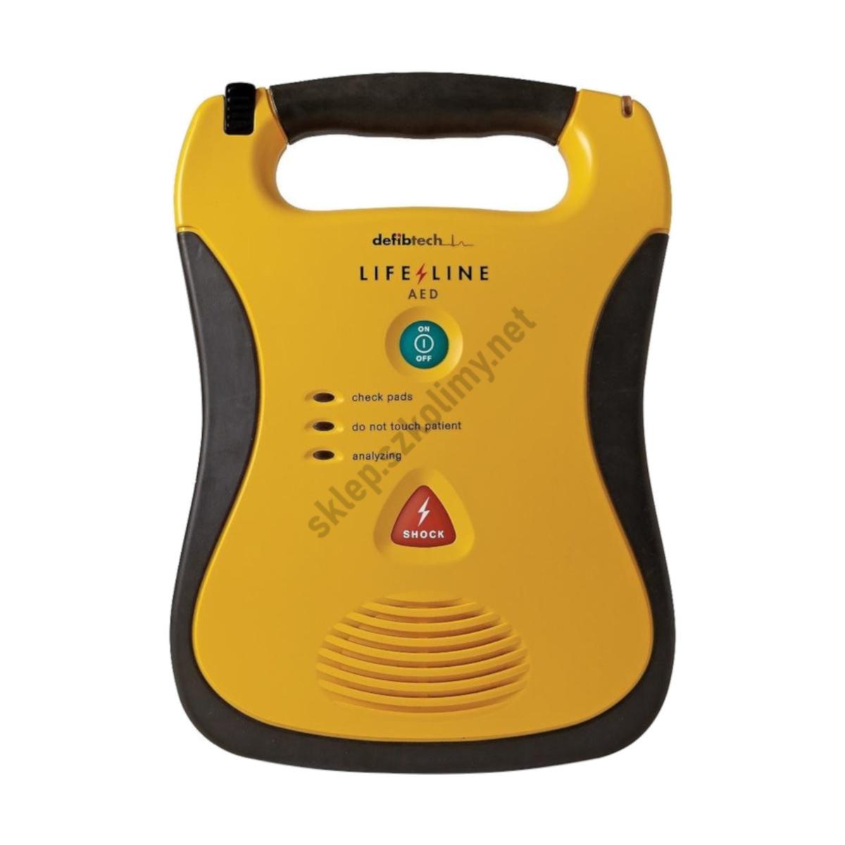 Defibrylator AED Defibtech Lifeline z 7-letnią baterią