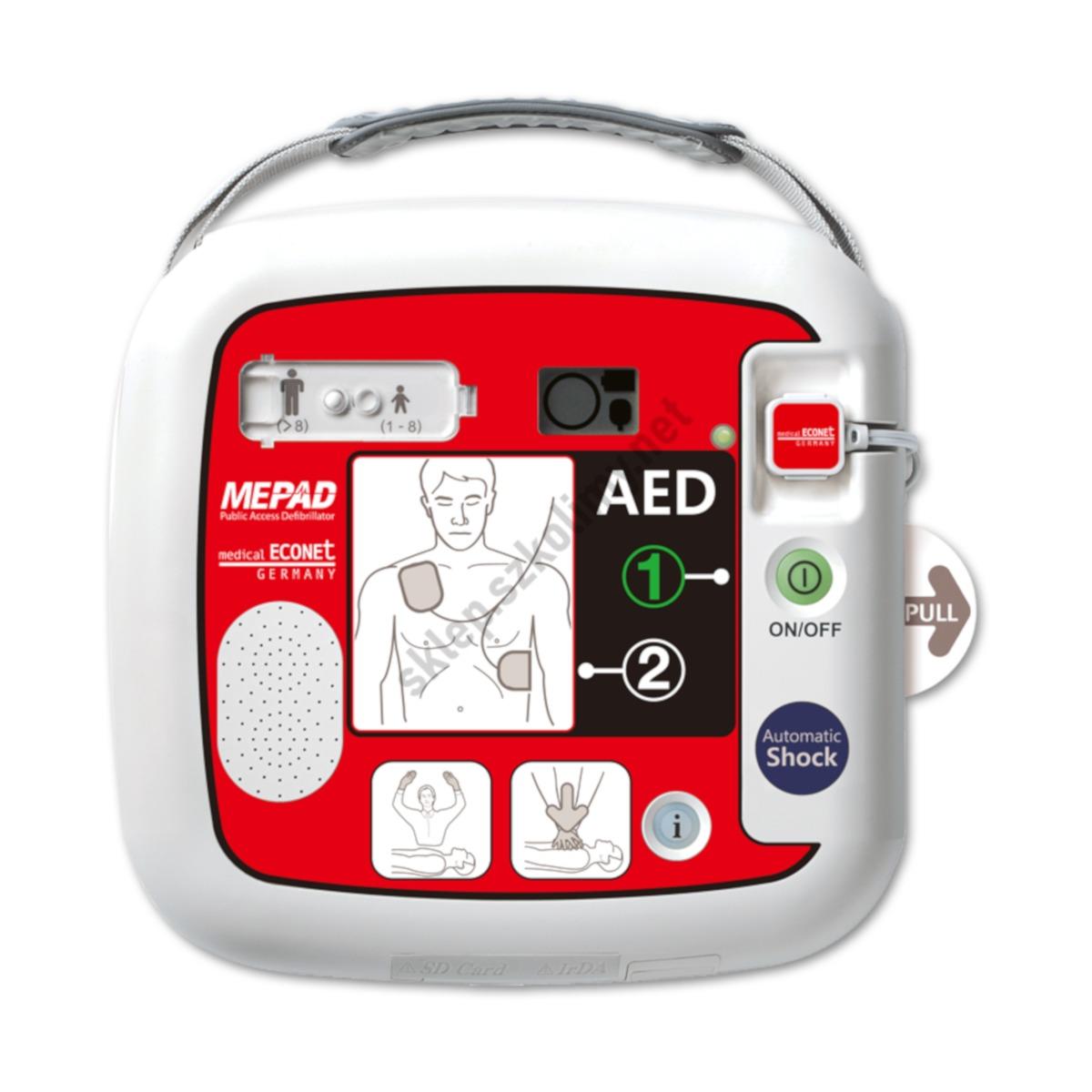 Defibrylator AED ME PAD (iPAD) CU SP1 automatyczny